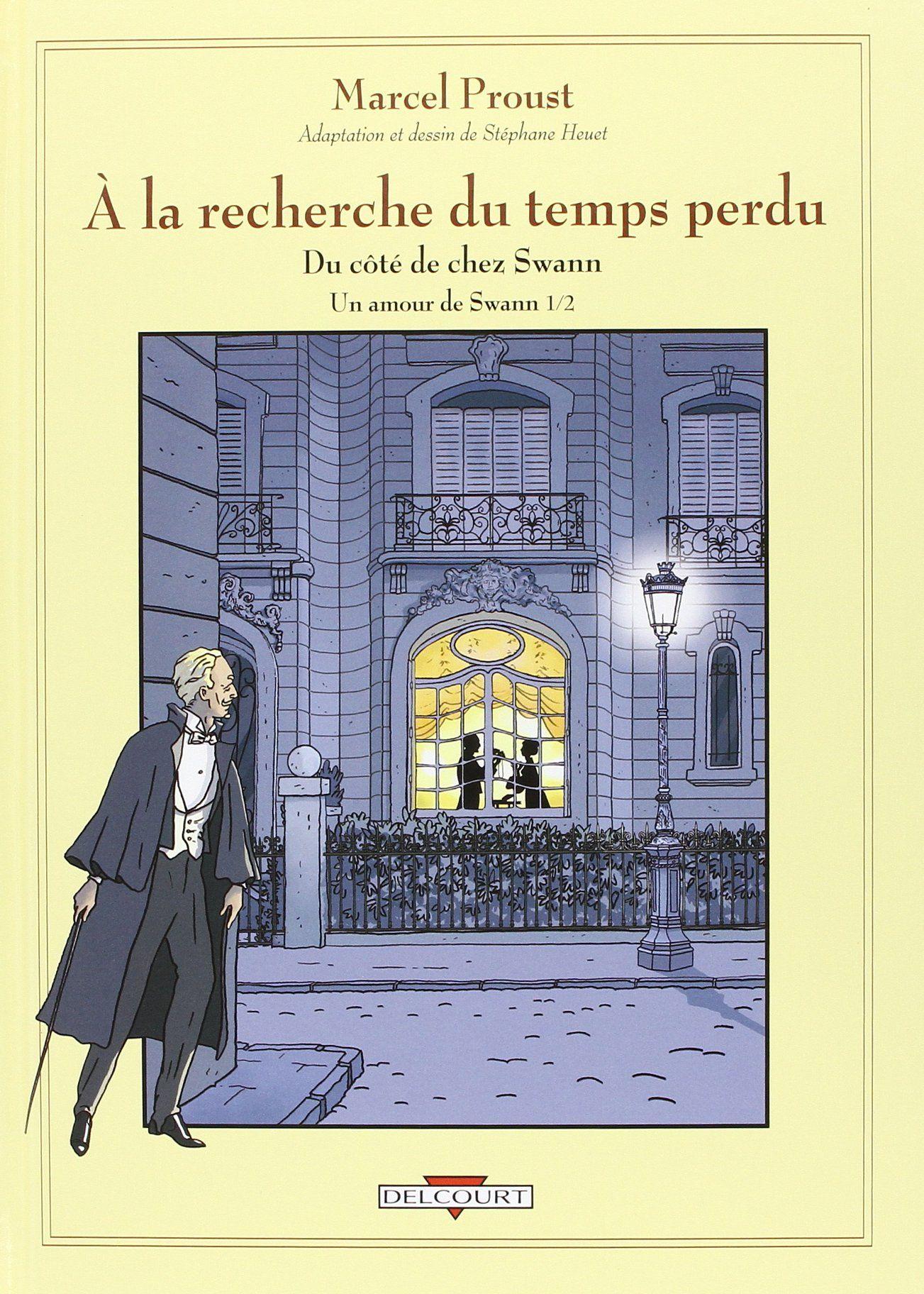 Première de couverture A la recherche du temps perdu adapté par Stéphane Heuet